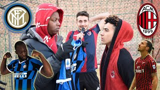 Inter VS Milan - BOTTA e RISPOSTA e Battaglia RAP Freestyle!!