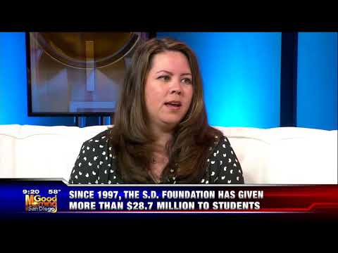 The San Diego Foundation on KUSI Discussing Scholarship Opportunities