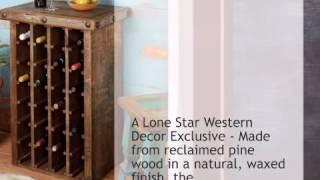 Pueblo Wine Cabinet - Lonestarwesterndecor.com