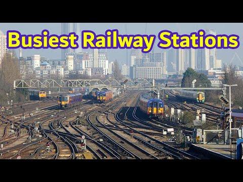Top 20 Busiest Railway Stations In Great Britain