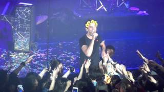 Mika - Staring At The Sun @ QSW Culture Center in Shanghai, China Feb 26th