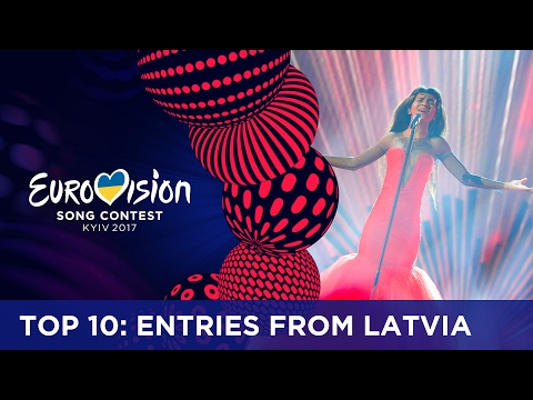 TOP 10: Entries from Latvia