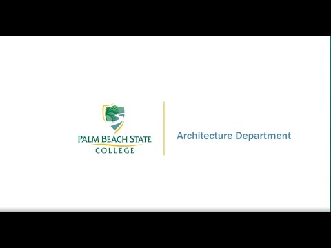 Architecture Department At Palm Beach State College
