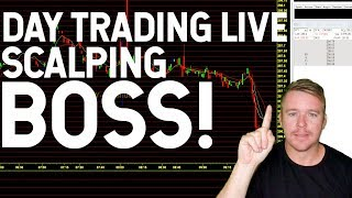 DAY TRADING LIVE! $ENDP MAKING MOVES!