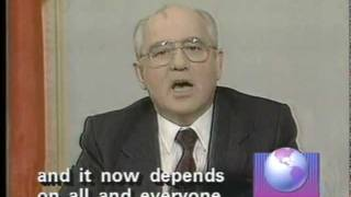 Gorbachev Resigns:  December 25, 1991