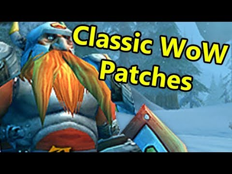 Re-Reading Classic/Vanilla WoW Patch Notes
