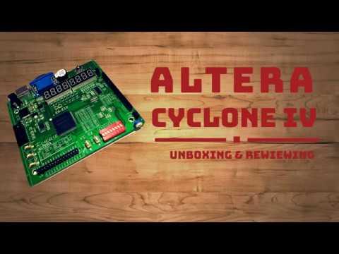 Набор для обучения ALTERA CYCLONE IV // Training kit ALTERA CYCLONE IV