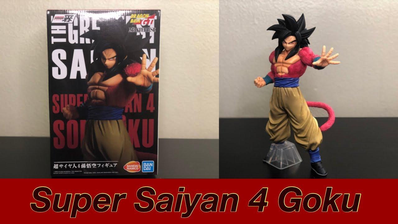 Dragon Ball GT Ichiban Kuji Super Saiyan 4 Goku Vegeta Figure Banpresto Prize