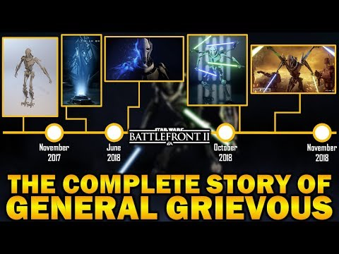 THE COMPLETE STORY OF GENERAL GRIEVOUS! Star Wars Battlefront 2