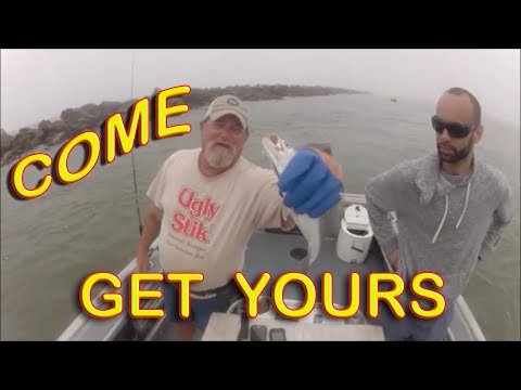SPRING JETTY SLAMS; Jacksonville fishing with Capt Dave