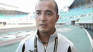三洋電機洲本 稲葉監督/2010年9月18日(土)