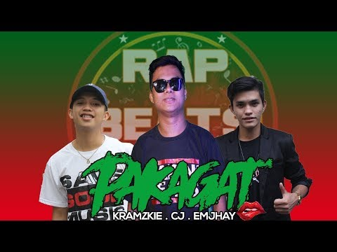 Pakagat - Kramzkie | CJ | Emjhay (Lyrics Video)
