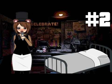 GETTING IN BED WITH FREDDY?!?! - #2 - Five Nights At Freddy's The Visual Novel