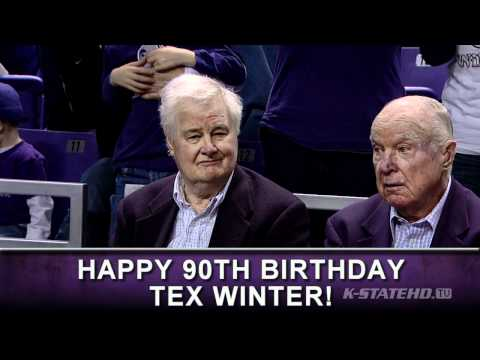 Tex Winter Recognition