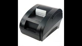 Thermal Receipt Printer Installation and Setup POS Printer