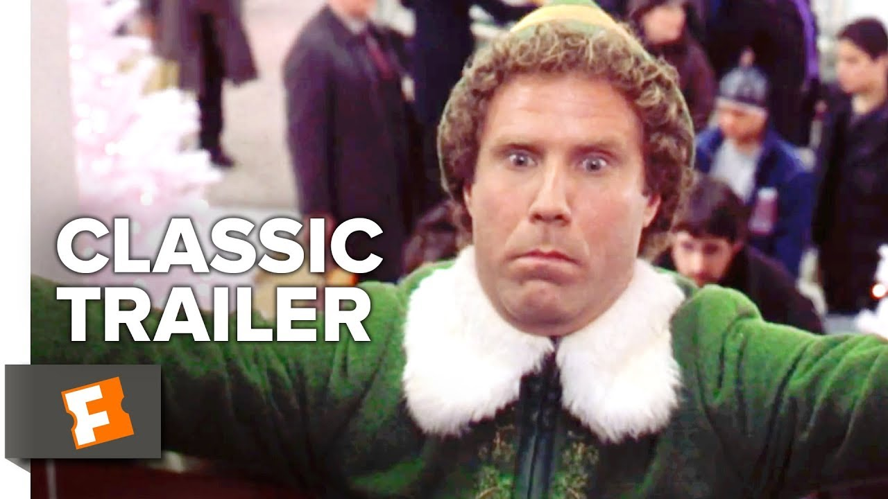 Elf (2003) Official Trailer #2 - Will Ferrell Christmas Comedy HD ...
