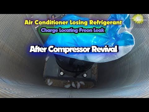 Air Conditioner Losing Refrigerant Charge Locating Freon Leak After Compressor Revival