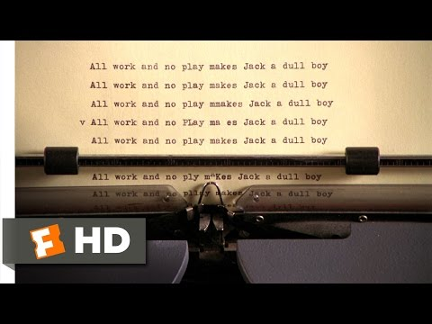 The Shining (1980) - All Work and No Play Scene (3/7) | Movieclips