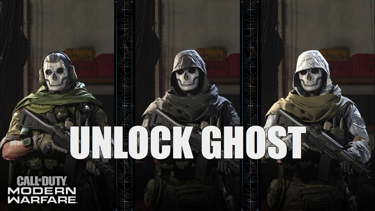 Fastest And Easiest Way To Unlock Ghost In Modern Warfare Youtube