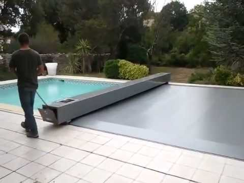 Copertura fotovoltaica per piscine urbanpools youtube for Teli per piscine interrate
