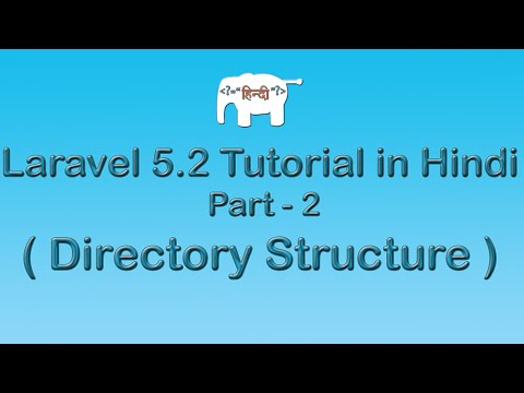 Laravel 5 Tutorial for Beginners in Hindi ( Directory Structure ) | Part-2