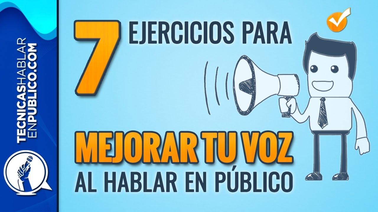 Oratoria Curso Para Hablar En Publico 7 Ejercicios Para Mejorar La Voz Tecnicas De Volumen 147 Youtube