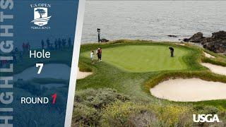2019 U.S. Open, Round 1: The Best of Hole 7