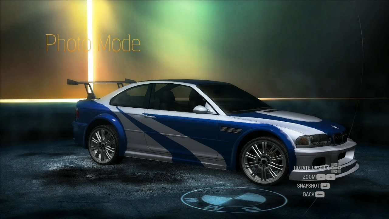 NFS Undercover BMW M3 GTR MW