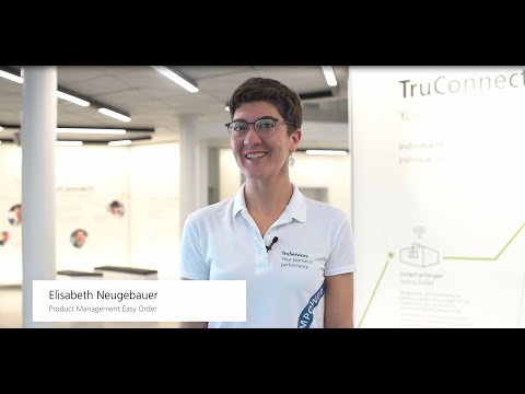 TRUMPF: Ask The Expert – Ordering Spare Parts And Tools Quickly With The Easy Order App