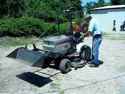 Yard LoaderAVI YouTube – Backhoe Plans For Garden Tractor