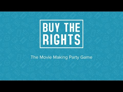 Buy The Rights - The Movie Making Party Game