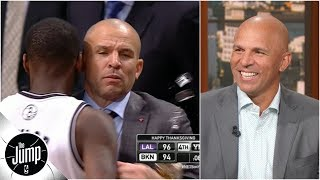 Download Jason Kidd recalls infamous moment he spilled drink on the court while coaching Nets | The Jump Mp3 and Videos