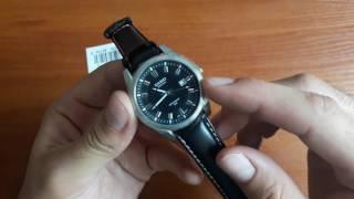 Обзор и настройка. Классические мужские часы Casio BEM-116L-1AVEF с датой