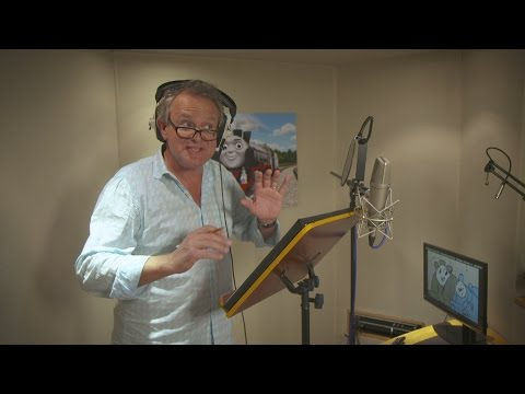 Behind the s: Hugh Bonneville lends his voice to new Thomas the Tank Engine character