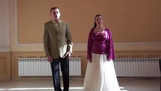 Бершид Ба Гиргина Гиргинова и Владимир Попов в град Русе, 17 Март 2018г