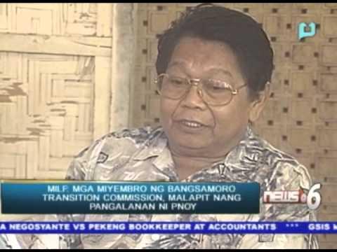 15 miyembro ng Bangsamoro Transition Commission, malapit nang pangalanan ni PNoy