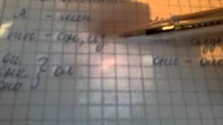 Казахский язык урок 4 , Местоимение