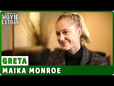"GRETA | On-set Interview with Maika Monroe ""Erica Penn"""
