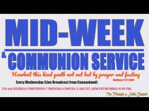 Midweek Communion Service, March 7, 2018