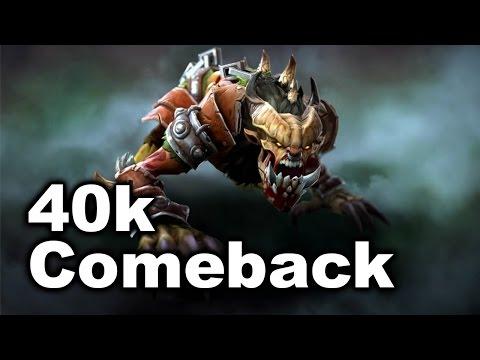 Biggest 40000 Comeback/Throw - Americas Qualifier Major Dota 2