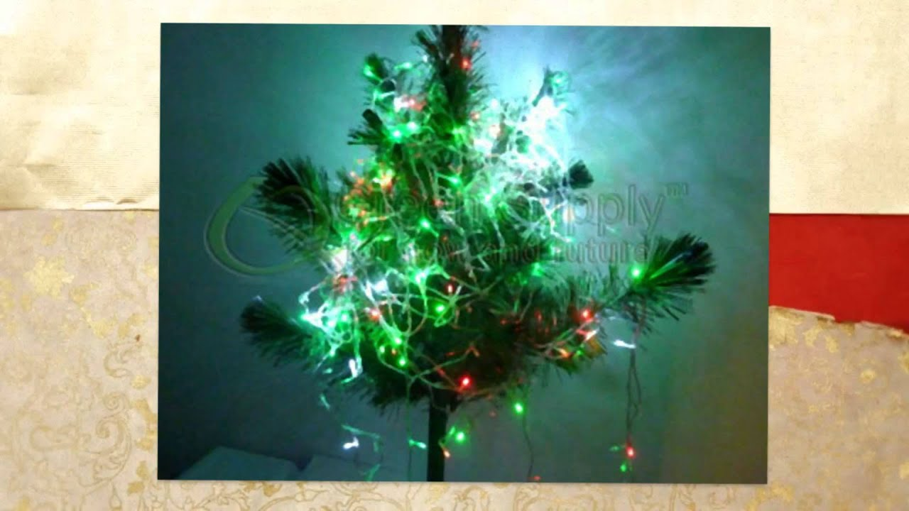 LED String Lights - Green Color (10 Meters or 32.8 Feet Long - YouTube