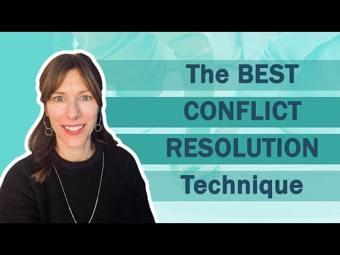 The Best Conflict Resolution Technique: How to have effective conflict resolution in your marriage
