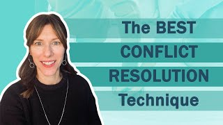 Conflict Resolution Steps. Watch this before trying to solve arguments with your partner.