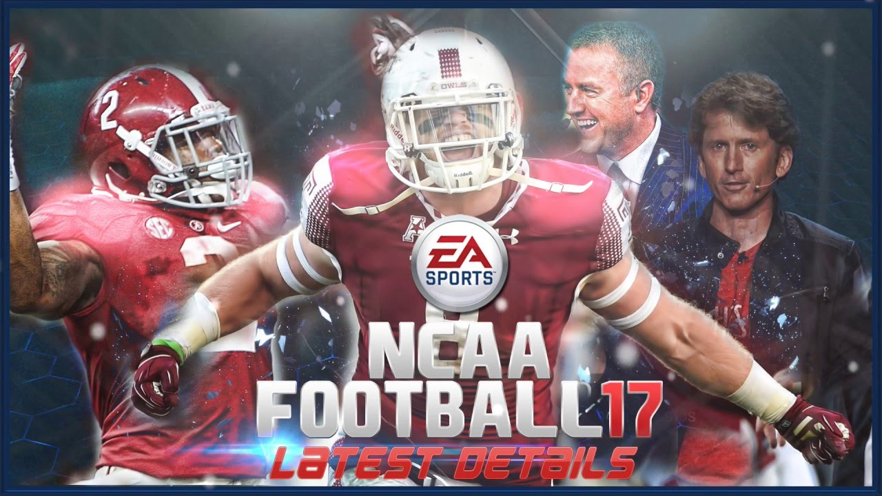 Sports Games For Ps4 : Ea sports ncaa football latest details youtube