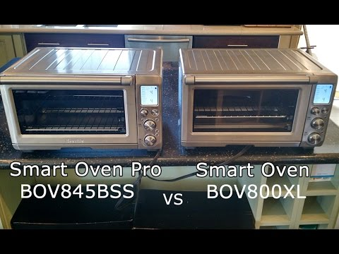 Breville Smart Oven Pro BOV845BSS vs Smart Oven BOV800XL