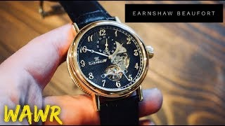 Thomas Earnshaw Beaufort 8082 02 Automatic Gold Dress Watch Review   Breguet At an Affordable Price!