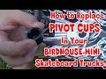 How To Install Pivot Cups in a Birdhouse Mini Skateboard