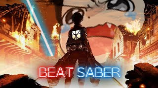 Attack On Titan All Opening Songs - (Expert And Expert+) In Beat Saber