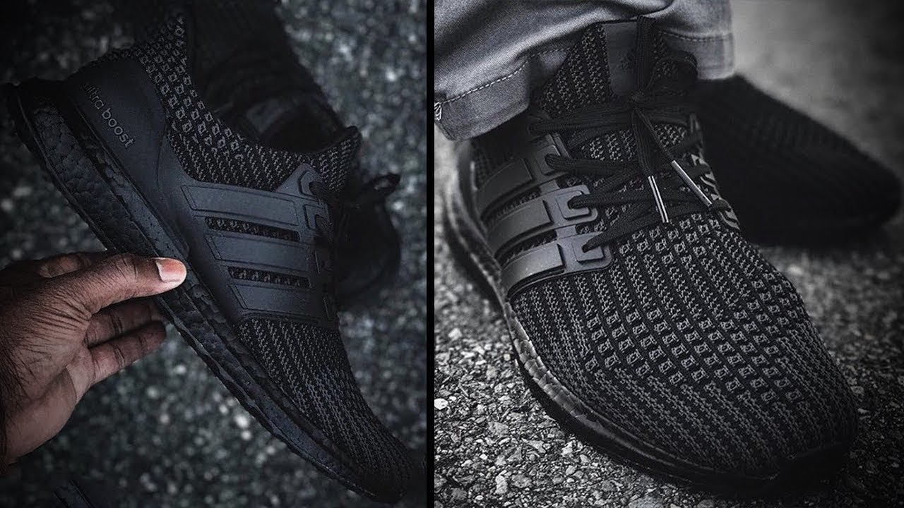 best loved 24031 e6f10 triple black ultra boost 4.0 release date