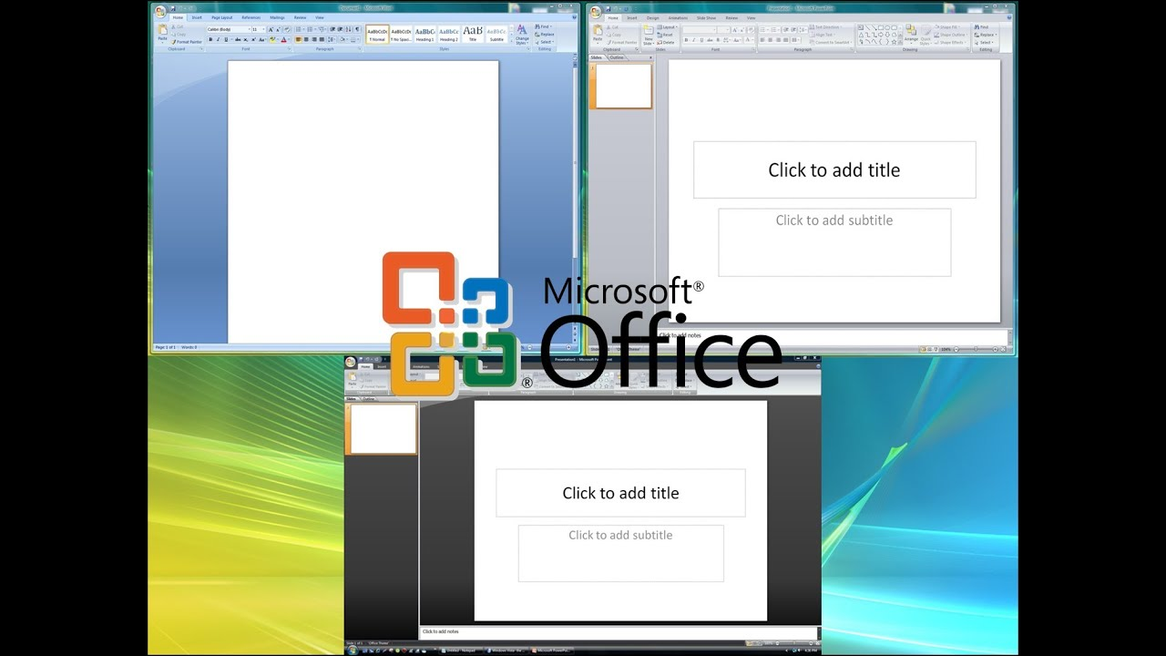 color scheme for office. How To Change Color Scheme In Microsoft Office 2007/2010/13 For A